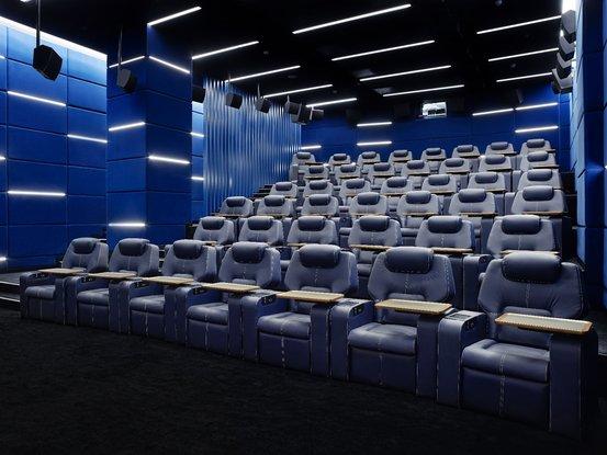 3D кинозал №3 кинотеатра Москва
